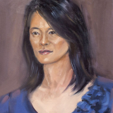 Mary, 2011, oil on canvas, 12x16in, live commission