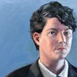 Self Portrait as Pete, 2012, 18x24in