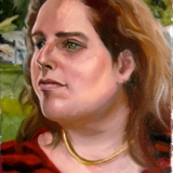 Margaret, Oils on canvas, 12x16in.