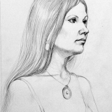 Sheila, Pencil on paper, 16x20in