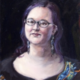 Brookes, oil on canvas, 16x20in, 2011
